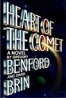 Heart of the Comet | Brin, David | Signed First Edition Book