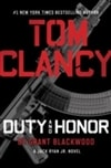Duty and Honor | Blackwood, Grant (as Clancy, Tom) | Signed First Edition Book