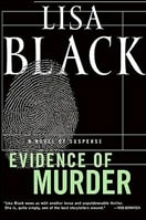 Evidence of Murder | Black, Lisa | Signed First Edition Book