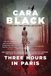 Black, Cara | Three Hours in Paris | Signed First Edition Book