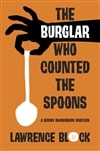 Block, Lawrence | Burglar Who Counted the Spoons, The | Signed Hardcover Trade Book