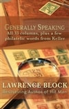 Block, Lawrence | Generally Speaking | Signed First Edition Copy