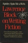 Block, Lawrence | Spider, Spin Me a Web | Signed First Edition Book