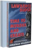 Time to Murder and Create | Block, Lawrence | Signed Limited Edition Book
