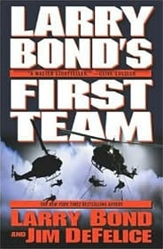 First Team | Bond, Larry | Signed First Edition Book