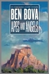 Bova, Ben | Apes and Angels | Signed First Edition Book