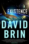 Brin, David | Existence | Signed First Edition Book