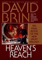 Heaven's Reach | Brin, David | Signed First Edition Book