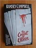 Campbell, Ramsey - The Count of Eleven (Signed First Edition)