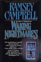 Campbell, Ramsey | Waking Nightmares | Signed First Edition Book