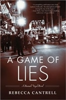 Game of Lies, A | Cantrell, Rebecca | Signed First Edition Book