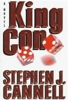 King Con | Cannell, Stephen J. | Signed First Edition Book