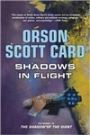 Card, Orson Scott - Shadows in Flight (Signed First Edition)