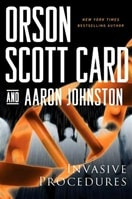 Invasive Procedures | Card, Orson Scott & Johnston, Aaron | Double-Signed 1st Edition