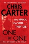 One By One | Carter, Chris | Signed First Edition UK Book