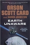 Card, Orson Scott & Johnston, Aaron - Earth Unaware (Double-Signed First Edition)