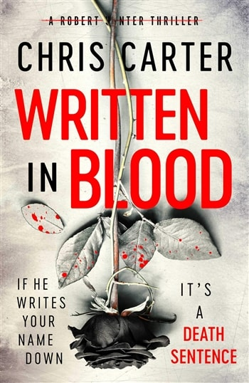 Written in Blood by Chris Carter