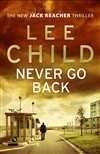 Never Go Back | Child, Lee | Signed First Edition UK Book