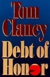 Clancy, Tom | Debt of Honor | Signed First Edition Book