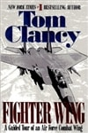 Clancy, Tom | Fighter Wing | Signed First Edition Trade Paper Book