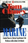 Clancy, Tom | Marine | Signed First Edition Trade Paper Book