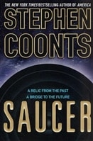 Saucer | Coonts, Stephen | Signed First Edition Trade Paper Book