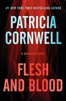 Flesh and Blood | Cornwell, Patricia | Signed Book Club Edition Book