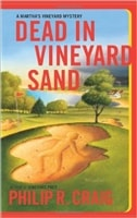 Dead in Vineyard Sand | Craig, Philip R. | Signed First Edition Book