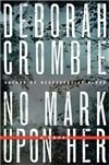No Mark Upon Her | Crombie, Deborah | Signed First Edition Book
