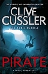 Cussler, Clive & Burcell, Robin | Pirate | Double Signed UK Edition Book