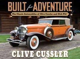 Built for Adventure | Cussler, Clive | Signed First Edition Book