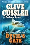 Cussler, Clive & Brown, Graham -  Devil's Gate (Double-Signed, 1st)