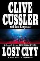 Lost City by Clive Cussler & Paul Kemprecos | Double Signed First Edition Book
