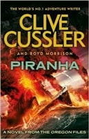 Piranha | Cussler, Clive & Morrison, Boyd | Double-Signed UK 1st Edition