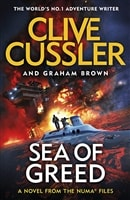 Sea of Greed | Cussler, Clive & Brown, Graham| Double-Signed UK 1st Edition