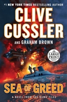 Sea of Greed | Cussler, Clive & Brown, Graham | Signed Large Print Edition