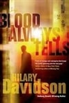 Blood Always Tells | Davidson, Hilary | Signed First Edition Book