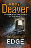 Deaver, Jeffery - Edge (Signed First Edition UK)