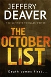 October List, The | Deaver, Jeffery | Signed First Edition UK Book