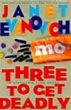 Three to Get Deadly | Evanovich, Janet | Signed First Edition Book