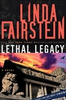 Lethal Legacy | Fairstein, Linda | Signed First Edition Book