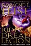Feist, Raymond E. | Rides a Dread Legion | Signed First Edition Book