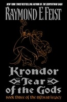 Krondor: Tear of the Gods | Feist, Raymond | Signed First Edition Book