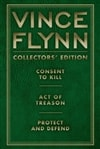 Collector's Edition Trilogy: Consent to Kill, Act of Treason, and Protect and Defend | Flynn, Vince | Signed Limited Edition Book