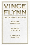 Collector's Edition Trilogy: Extreme Meaures, Pursuit of Honor, and American Assassin | Flynn, Vince | Signed Limited Edition Book