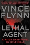 Mills, Kyle (as Flynn, Vince) | Lethal Agent | Signed First Edition Copy
