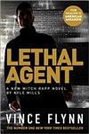 Mills, Kyle (as Flynn, Vince) | Lethal Agent | Signed UK First Edition Copy
