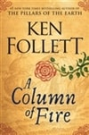 Column of Fire, A | Follett, Ken | Signed First Edition Book