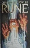 Rune | Fowler, Christopher | Signed First Edition UK Book