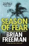 Season of Fear | Freeman, Brian | Signed First Edition Book